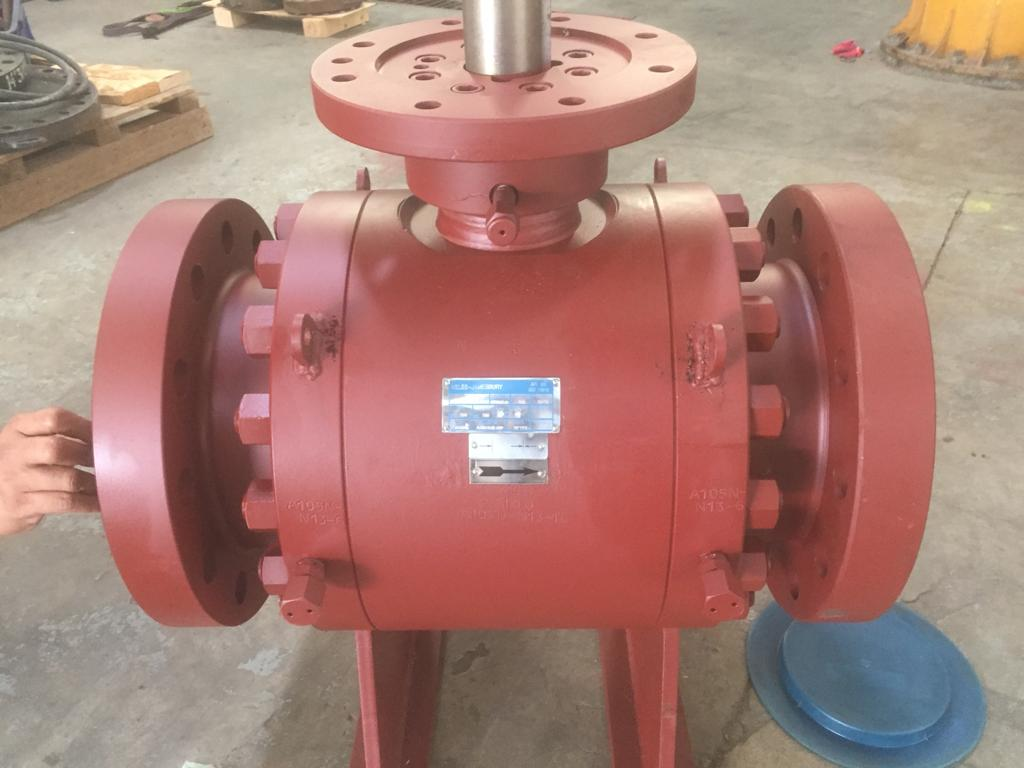 Distributor Neles Jamesbury Trunnion Ball Valve